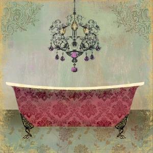 Boudoir Bath II by Sloane Addison