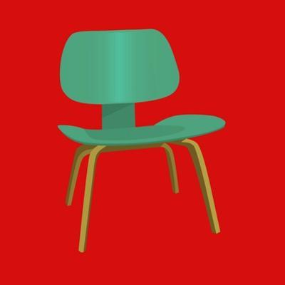 Mid Century Chair II by Sloane Addison