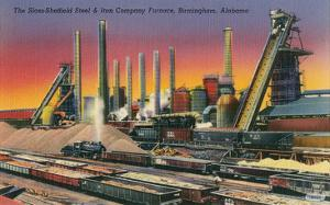 Sloss-Sheffield Steel Mill, Birmingham, Alabama