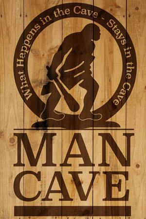 Caution! Man Cave