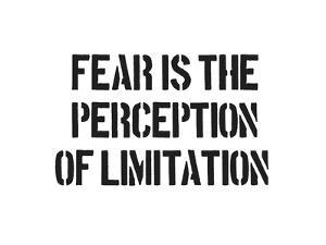 Fear And Limitation by SM Design