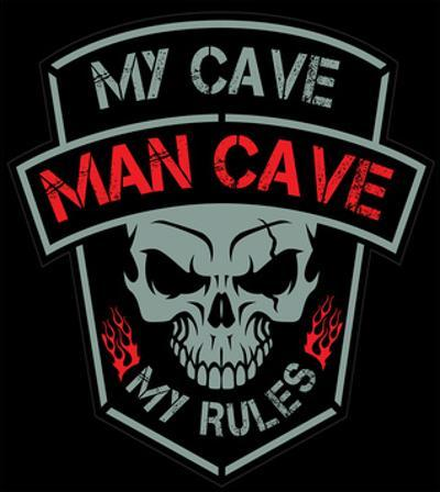 Man Cave-Biker Patch
