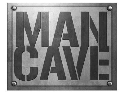 Man Cave Entry Plaque