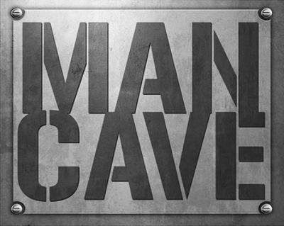 Man Cave Entry Plaque