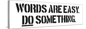 Words Are Easy by SM Design