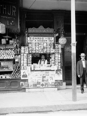 Smallest News Post Card Stand in New Orleans, La., 103 Royal Street