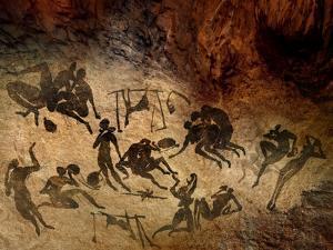 Cave Painting, Artwork by SMETEK