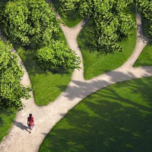 Decision Paths, Conceptual Image by SMETEK