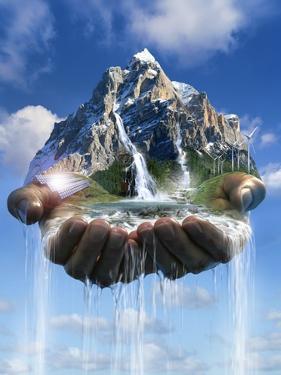 Environmental Care, Conceptual Image by SMETEK