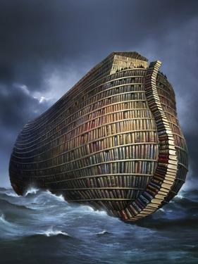Literary Ark, Conceptual Artwork by SMETEK