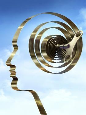 Stress, Conceptual Image by SMETEK