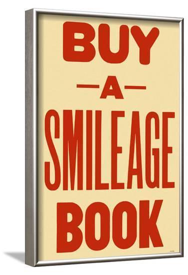 Smileage--Framed Masterprint
