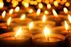 Candles Glowing in the Dark by Smileus