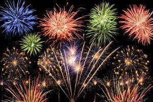 Spectacular Fireworks by Smileus