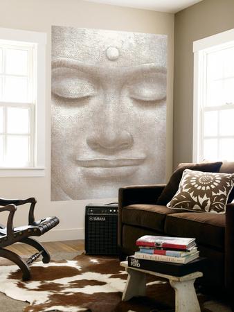 Smiling Buddha Mural