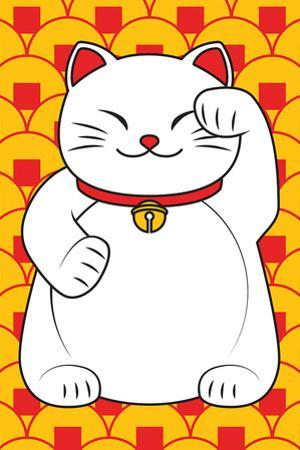 Smiling Lucky Cat
