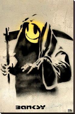 Smiling Reaper Banksy
