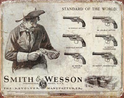 Smith and Wesson Revolvers Standard of the World
