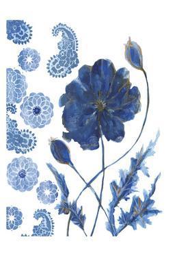 BW Persian Poppy 1 by Smith Haynes