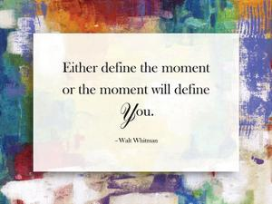 Define The Moment by Smith Haynes
