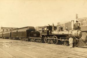 Northern Pacific Locomotive No. 99 by Smith