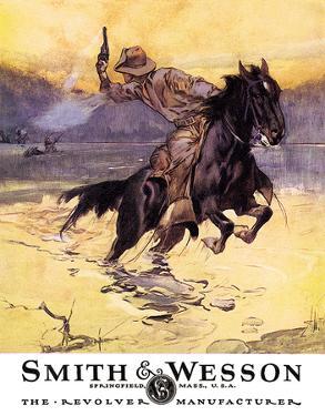 Smith & Wesson - Hostiles Tin Sign