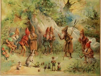 Smithsonian Libraries: A Council of Gnomes