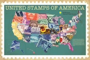 Smithsonian - United Stamps Of America