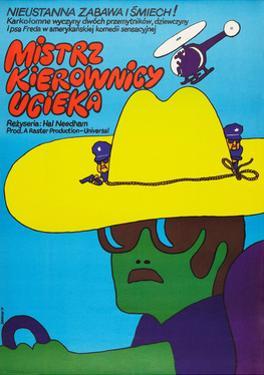 SMOKEY AND THE BANDIT, (aka MISTRZ KIEROWNICY UCIEKA), Polish poster, 1977