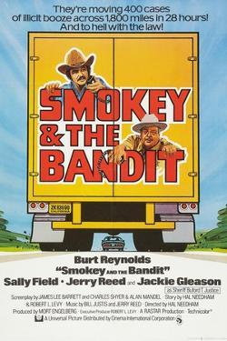 Smokey and the Bandit, Burt Reynolds (top), Jackie Gleason, 1977
