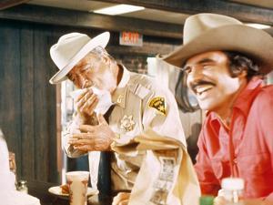 Smokey And The Bandit, Jackie Gleason, Burt Reynolds, 1977