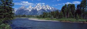 Snake River and Grand Teton WY USA