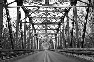Road through Metal Bridge Tunnel by SNEHITDESIGN