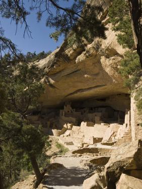 Mesa Verde, UNESCO World Heritage Site, Colorado, United States of America, North America by Snell Michael