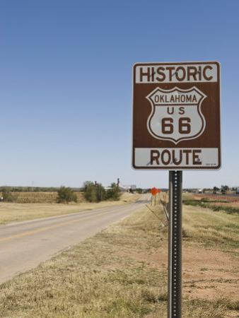 Route 66, Oklahoma, United States of America, North America by Snell Michael