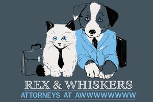 Attorneys at Awww Snorg Tees Poster by Snorg