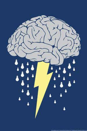 Brainstorm Snorg Tees Poster by Snorg