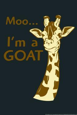 Giraffe Snorg Tees Poster by Snorg