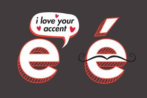 I Love Your Accent Snorg Tees Poster by Snorg
