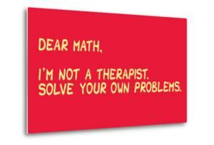 Math Solve Your Own Problems by Snorg