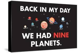 Nine Planets Snorg Tees Poster by Snorg