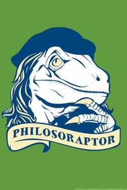 Philosoraptor Snorg Tees Poster by Snorg