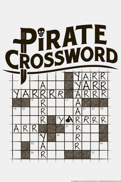Pirate Crossword by Snorg