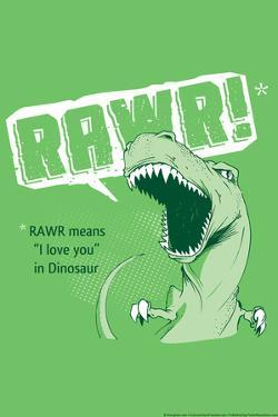 Rawr Snorg Tees Poster by Snorg