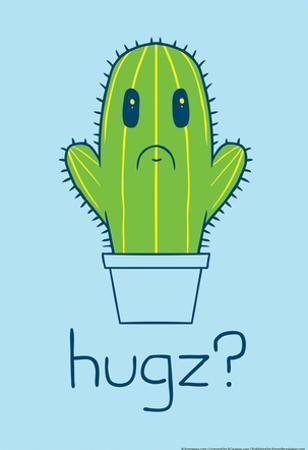 Cactus Hugz? by Snorg Tees