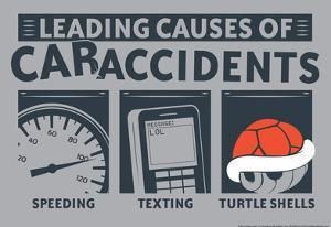 Causes of Car Accidents by Snorg Tees