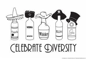 Celebrate Diversity by Snorg Tees