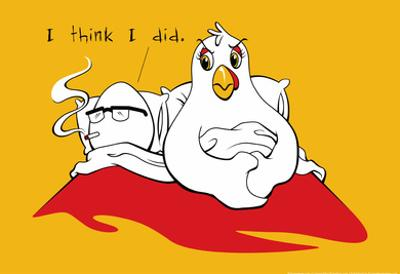 Chicken and Egg by Snorg Tees