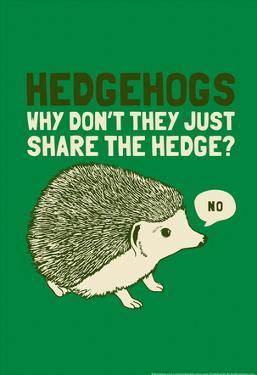 Hedgehogs by Snorg Tees