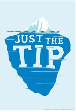 Iceberg Tip by Snorg Tees
